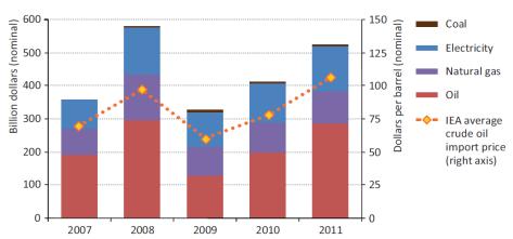 Fossil fuel subsidies IEA