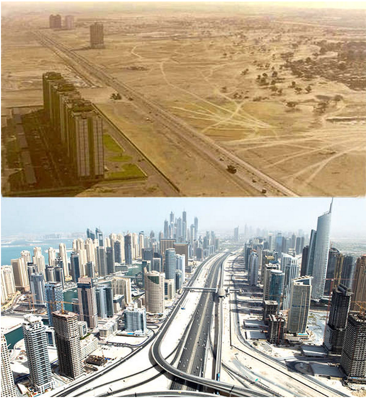 Dubai transformation